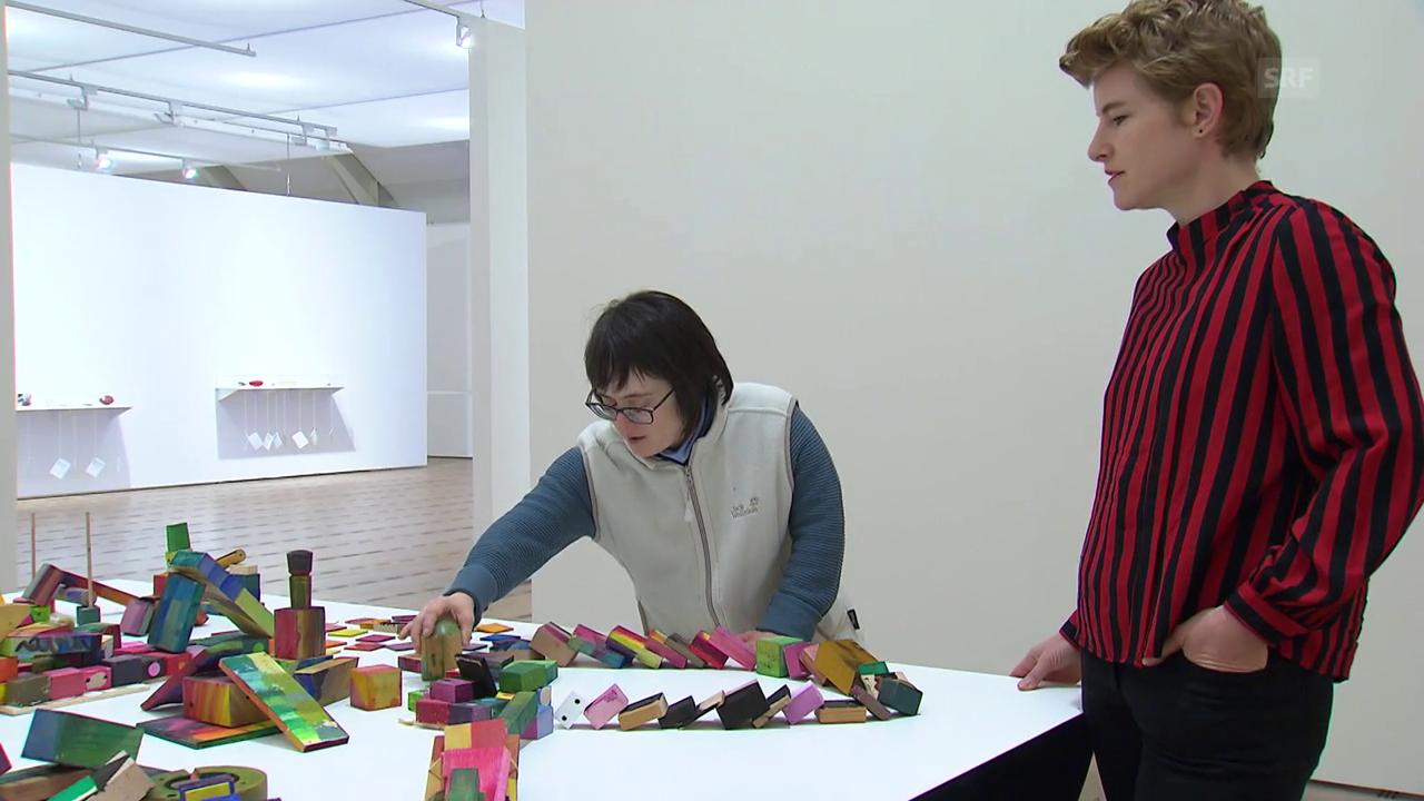 Ausstellung Touchdown im Zentrum Paul Klee