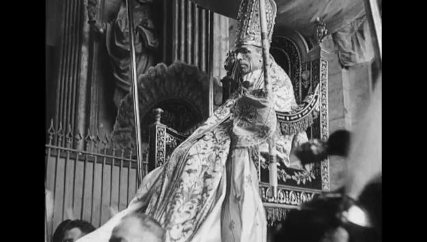 Video «Heiligsprechung Niklaus von Flüe (1947)» abspielen