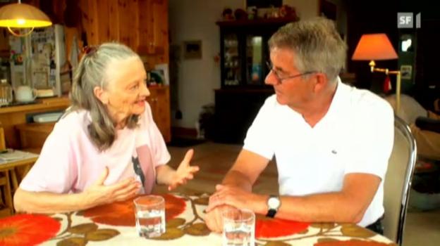 Video «Gigi aus Arosa besucht Ines Torelli in Kanada» abspielen