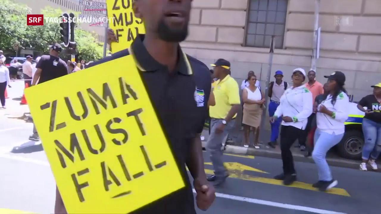 Zuma gibt nach und tritt nun doch per sofort zurück