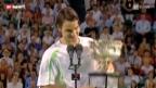 Video «Tennis: Würdigung von Roger Federer» abspielen