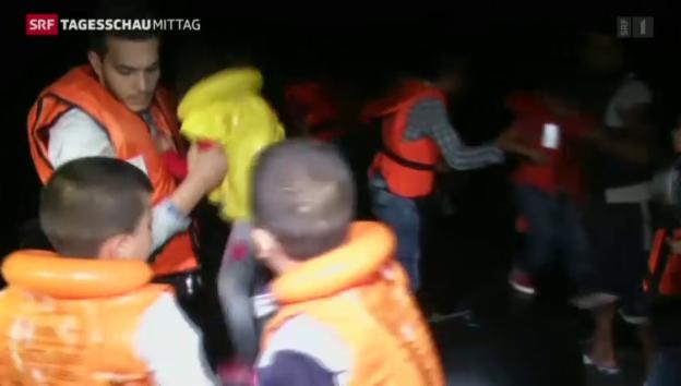 Video «Flüchtlingssituation massiv verschärft» abspielen