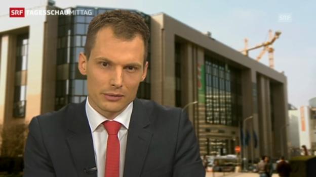 Video ««Noch keien konkreten Entscheide erwaret» (Jonas Projer, Tagesschau, 5.2.2013)» abspielen