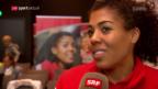 Video «Mujinga Kambundji und Selina Büchel vor der EM» abspielen