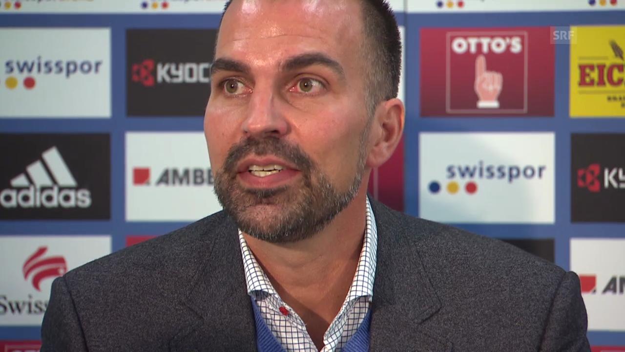 Fussball: Markus Babbel bei der Präsentation als Luzern-Trainer