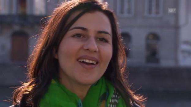 Video «Marion Duschletta über ihre Zürich-Faszination» abspielen