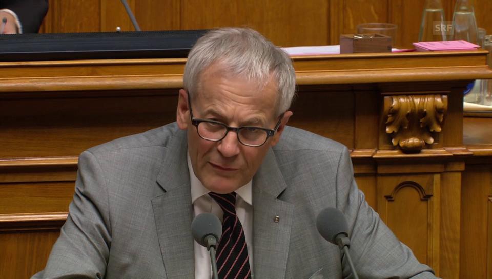 Kurt Fluri (FDP/SO): «Neuverhandlung der Personenfreizügigkeit vermeiden»