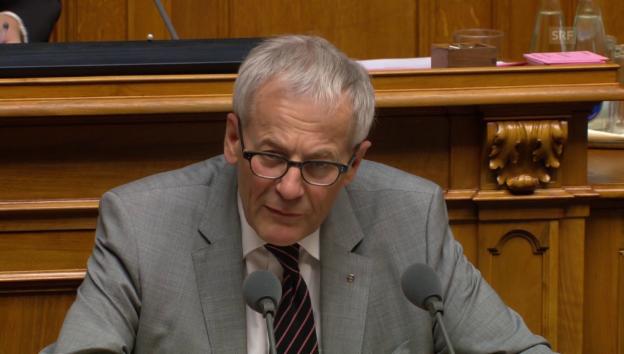 Video «Kurt Fluri (FDP/SO): «Neuverhandlung der Personenfreizügigkeit vermeiden»» abspielen