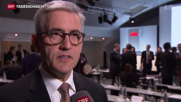 Video «ABB zieht durchzogene Bilanz» abspielen