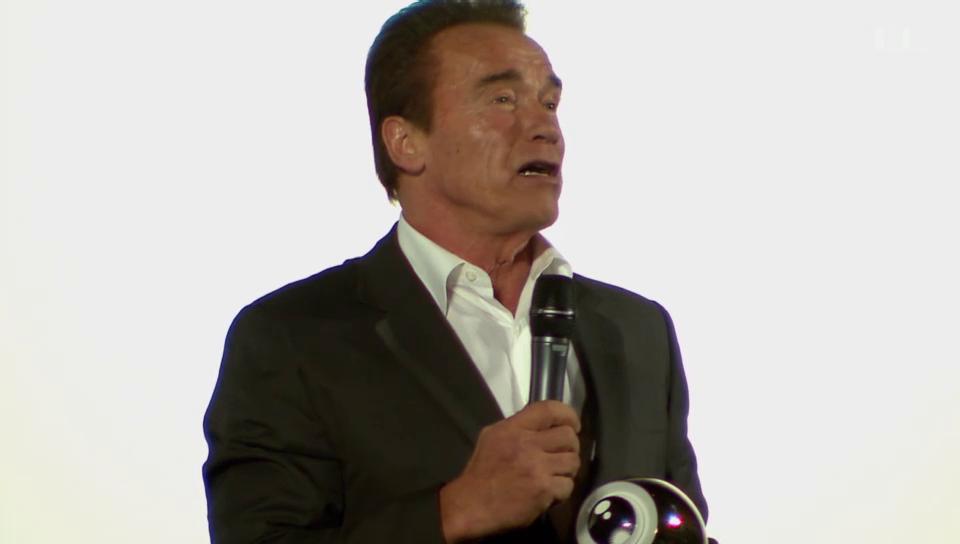 Arnold Schwarzenegger: Ein Auge für den Muskelmann