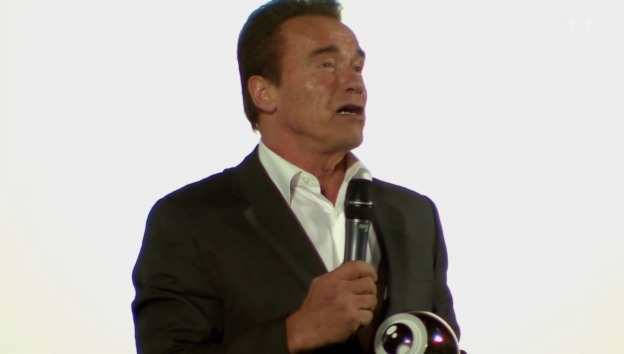Video «Arnold Schwarzenegger: Ein Auge für den Muskelmann» abspielen