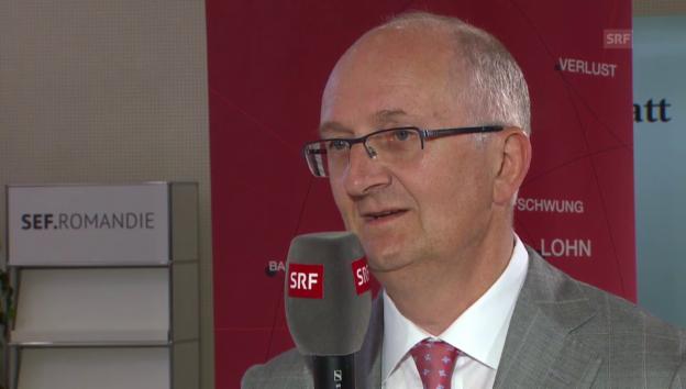 Video «Jura-Chef Probst: «In unseren Märkten läuft die Konjunktur gut»» abspielen
