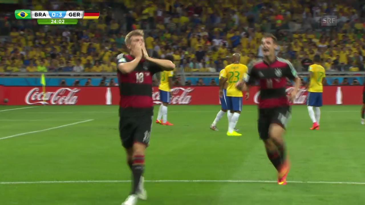 FIFA WM 2014: Die 5 Tore Deutschlands vor der Pause