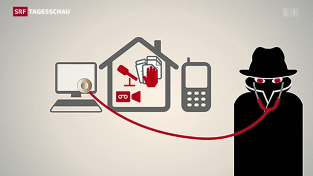 Video «Vorbehalte gegen mehr Geheimdienst-Kompetenzen per Notrecht» abspielen