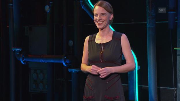 Video «Warm Up: Uta Köbernick zur Mundartinitiative» abspielen
