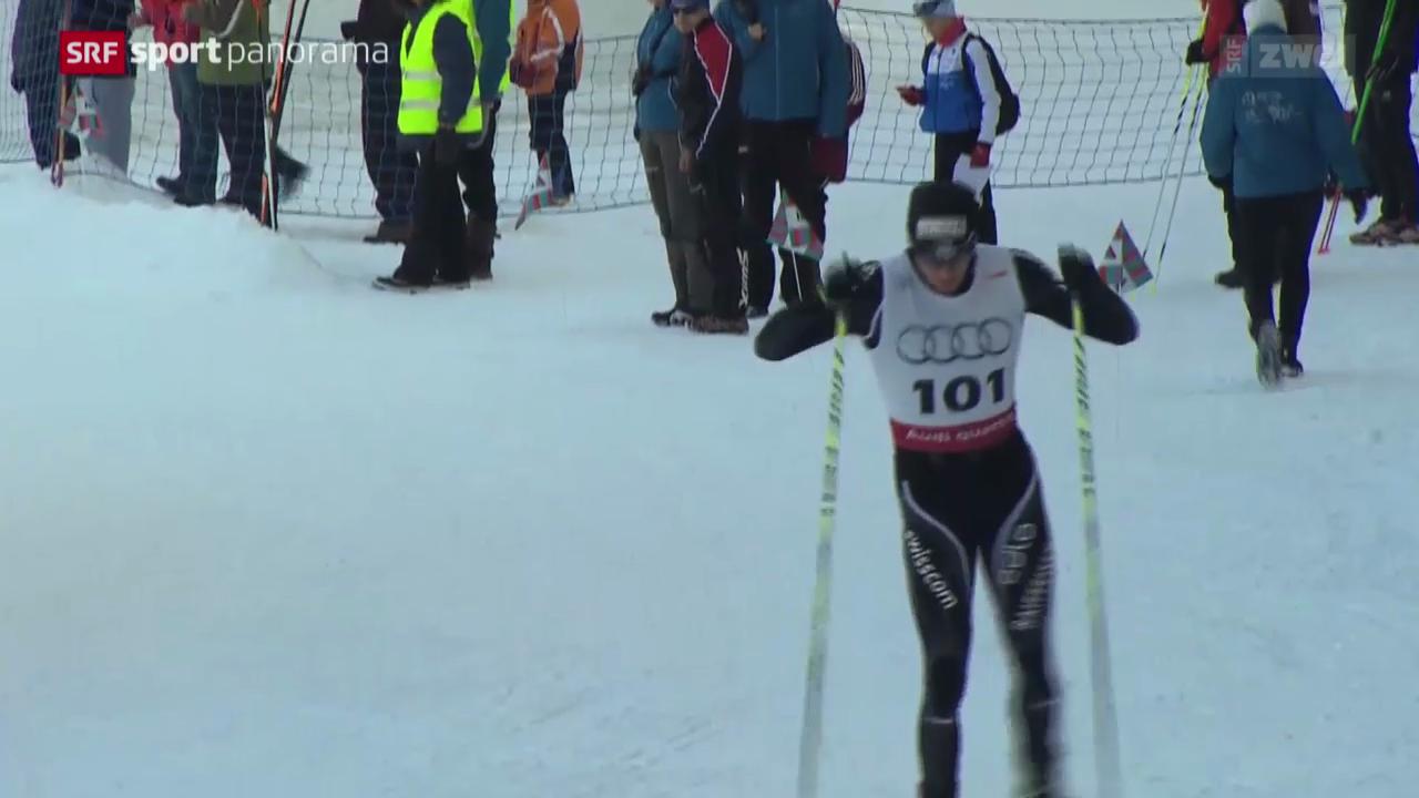 Langlauf: Schweizermeisterschaften in Leysin