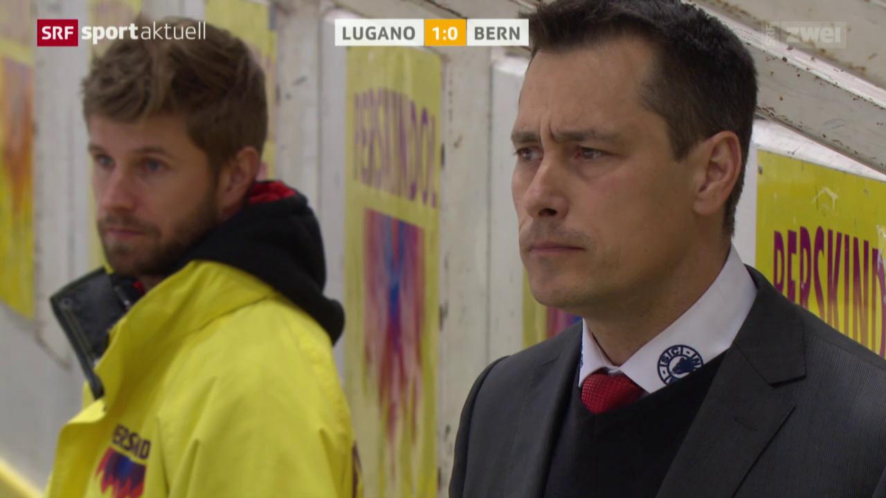 Eishockey: NLA, Lugano-Bern