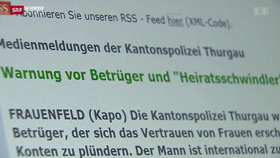 Heiratsschwindler am Bodensee