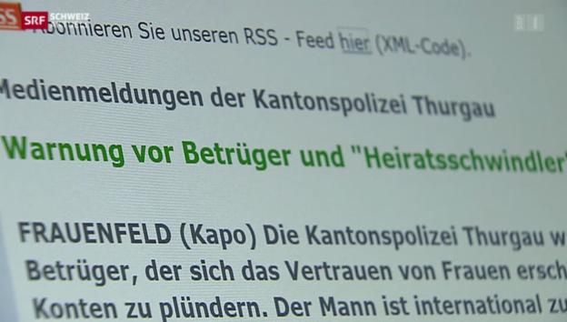 Video «Heiratsschwindler am Bodensee» abspielen