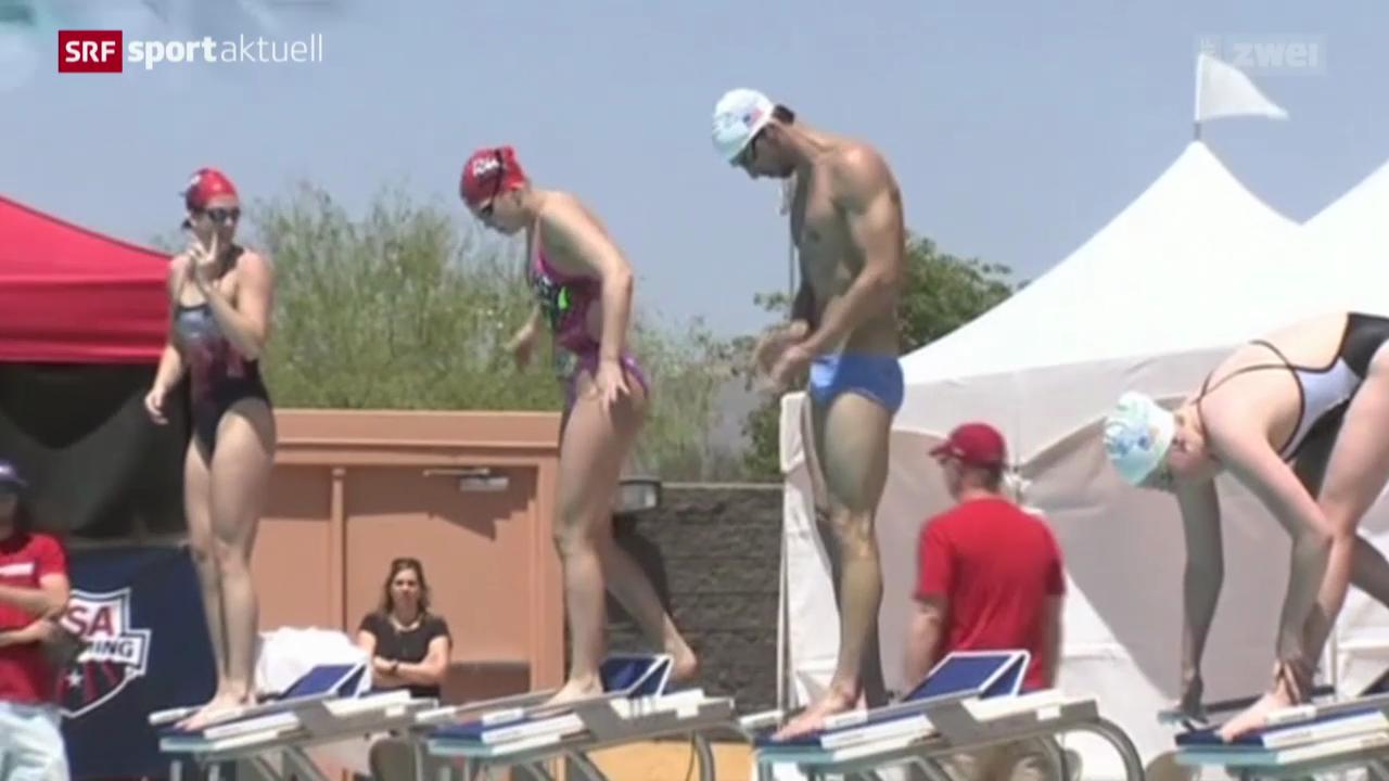 Schwimmen: Das Comeback von Michael Phelps