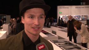 Video «Iouri Podladtchikov stellt zum ersten Mal seine Fotografien aus» abspielen