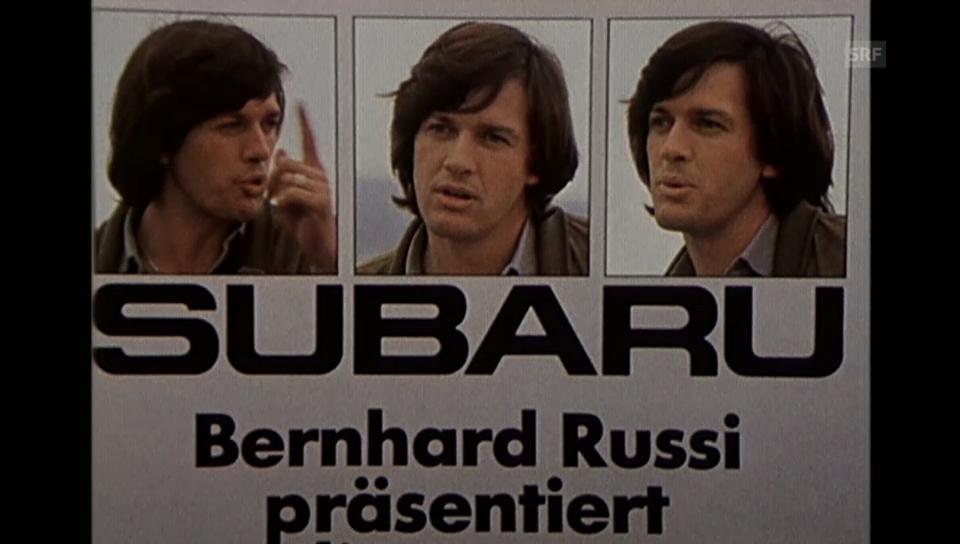Bernhard Russi und die Werbung («Blickpunkt» vom 12.2.1980)