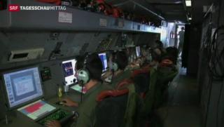Video «Suche nach Flugzeug gestoppt» abspielen