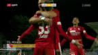 Video «Sion findet in Lugano zum Siegen zurück» abspielen