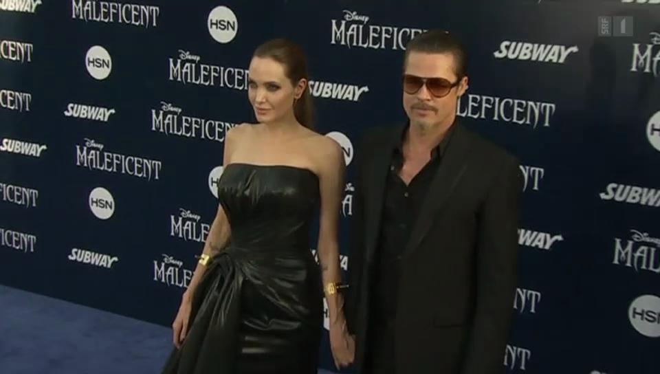Hafen der Ehe: Angelina Jolie und Brad Pitt haben sich getraut