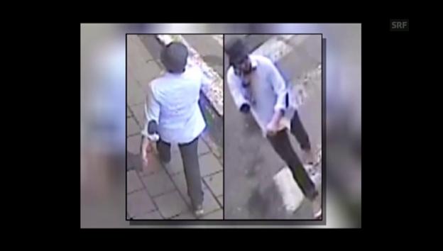 Video «Neues Video zeigt mutmasslichen Attentäter von Brüssel» abspielen