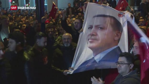 Video «Türkei hetzt gegen die Niederlande» abspielen