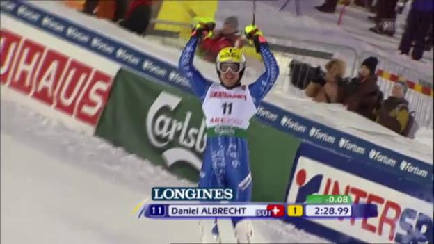 Video «Daniel Albrechts WM-Gold in der Kombination 2007» abspielen