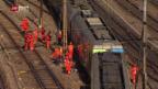 Video «Entgleisung beim Bahnhof Bern» abspielen