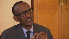 Video «Kagame über den Umgang mit dem Genozid.» abspielen