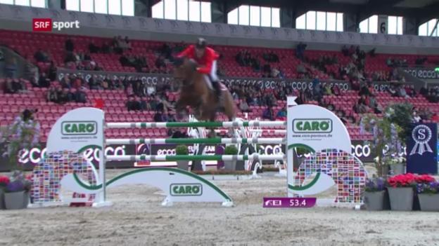 Video «Reiten: Die Schweizer Reiter an der EM in Herning («sportaktuell»)» abspielen