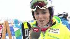 Video «Ski alpin: Lindsey Vonn über die WM-Abfahrtsstrecke «Raptor»» abspielen