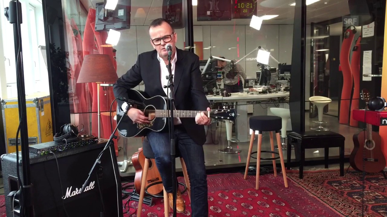Philipp Fankhauser spielt live «When A Fool Takes His Turn»