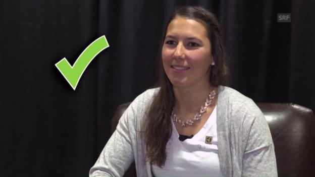 Video «Einfädler Quiz mit Wendy Holdener» abspielen