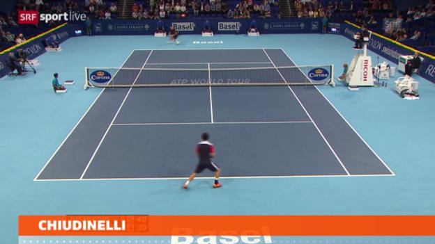 Video «Chiudinelli ausgeschieden («sportlive»)» abspielen