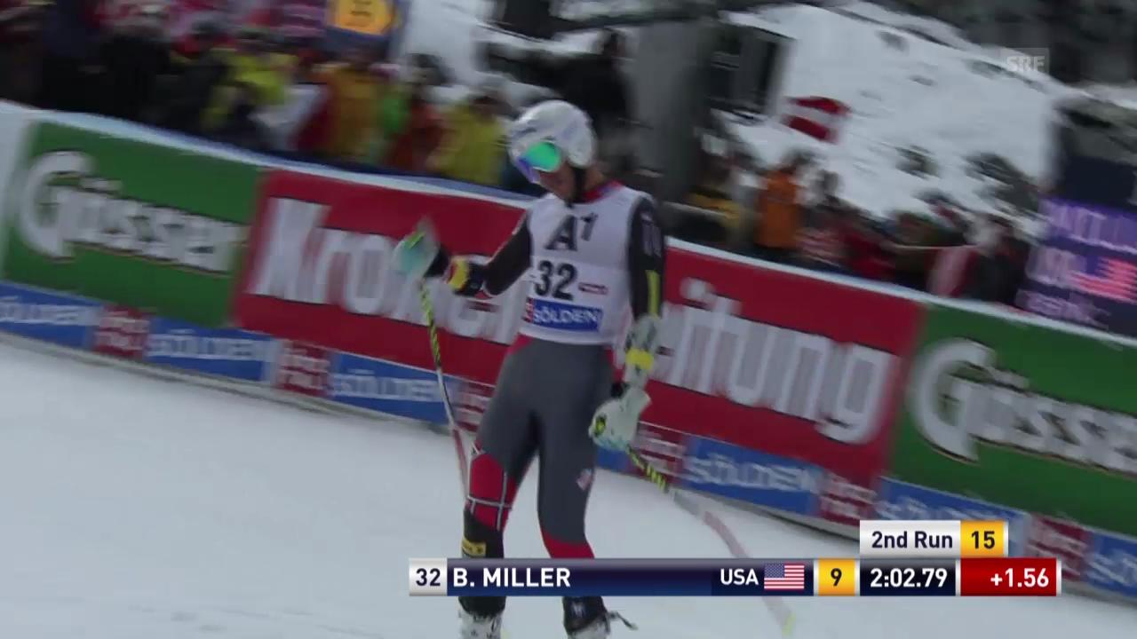 Ski alpin: 2. Lauf von Bode Miller («sportlive»)