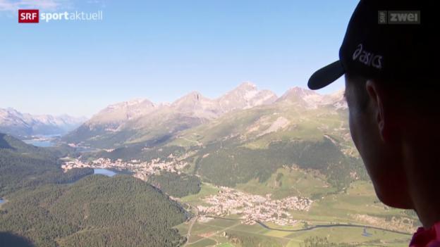 Video «Leichathletik: Viktor Röthlin vor dem EM-Marathon» abspielen