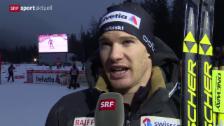 Video «Langlauf: Tour de Ski, 30 km Männer» abspielen