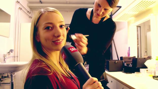 Video «Anna zeigt den Weg der Talente auf die Bühne» abspielen