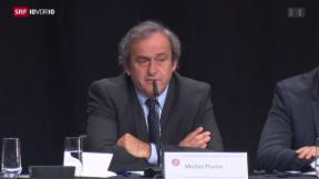 Video «FOKUS: Ist dies das Ende von Platini?» abspielen