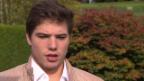 Video «Eishockey: Kevin Fiala zur Hilfe von Roman Josi» abspielen