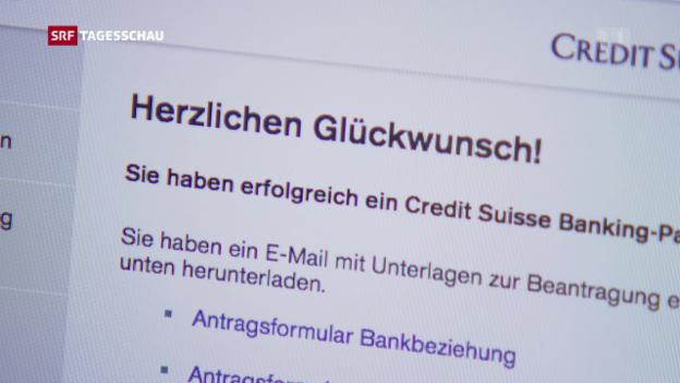 Video «Kleine Aargauer Bank als Vorreiterin für «Digital Banking»» abspielen