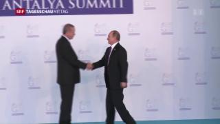 Video «Erdogan besucht Putin» abspielen