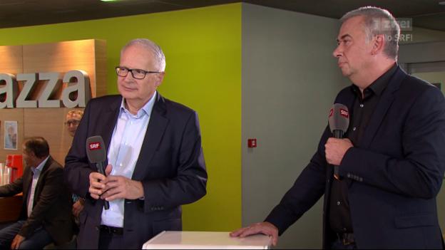 Video «SRF-Direktor und SRF-Programmleiter im Interview» abspielen
