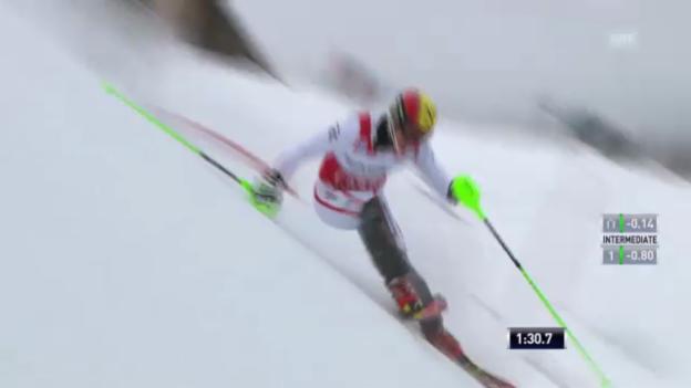 Video «Ski: 2. Lauf Marcel Hirscher («sportlive»)» abspielen
