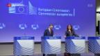 Video «EU wappnet sich gegen US-Strafzölle» abspielen